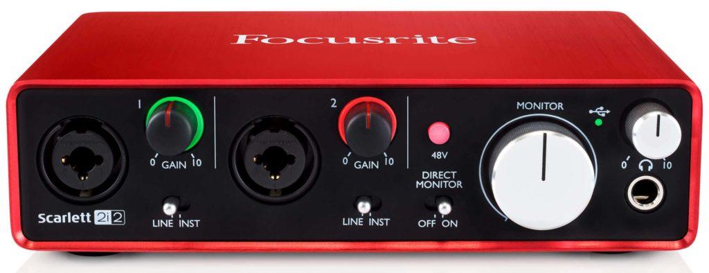 Interfejs audio Focusrite Scarlett Solo 2Gen