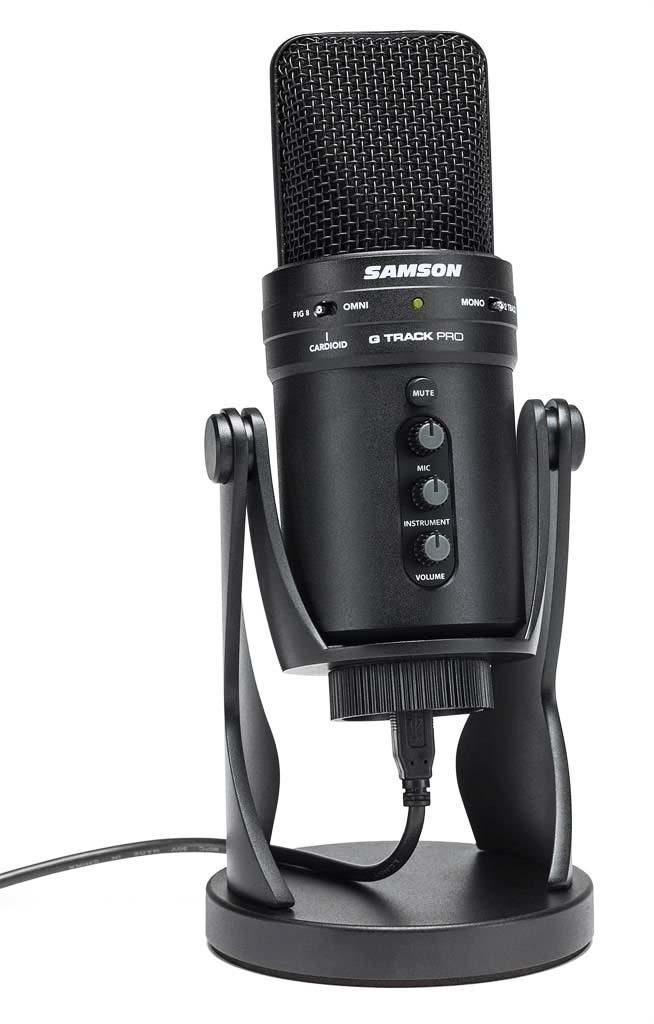 mikrofon pojemnościowy Samson G-Track Pro