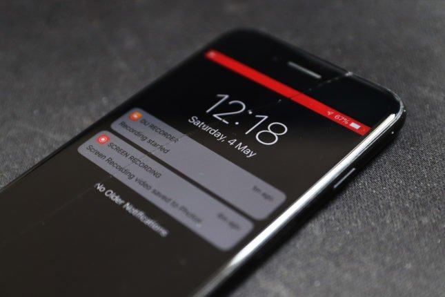 Iphone ios rozpoczęcie nagrywania