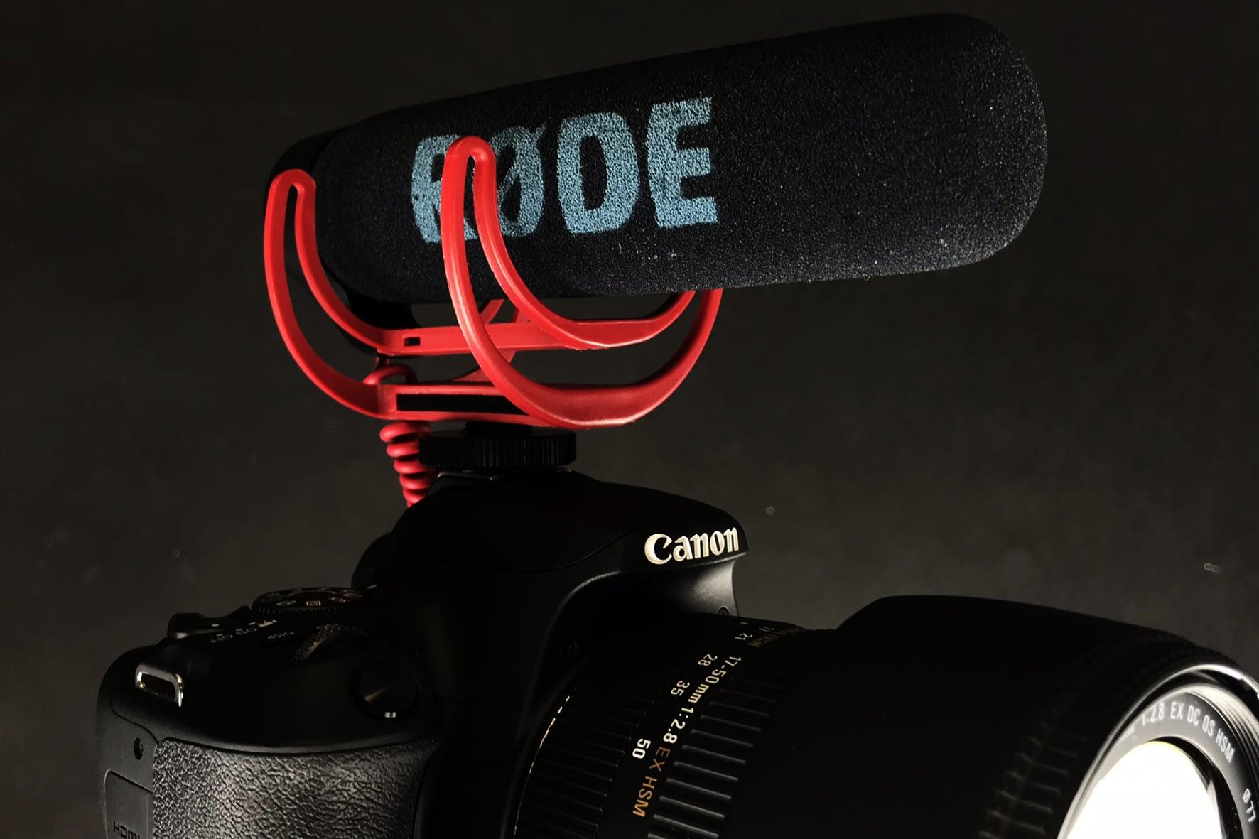 mikrofon na lustrznake