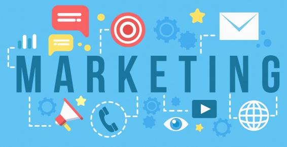 Zdjęcia przedstawia ilustracje marketingu